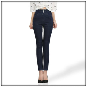 LEIJI JEANS High Waist Pencil Jeans Pencil