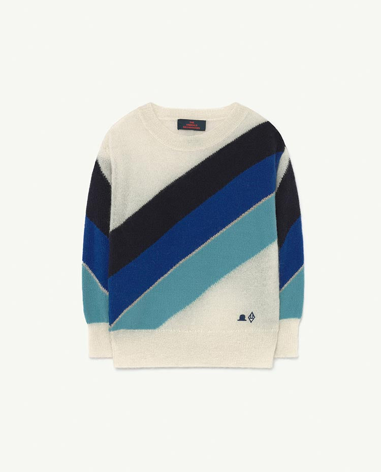 STRIPES BULL KIDS SWEATER