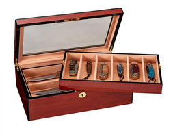STILL AVAILABLE - Large Rosewood Knife Case -STILL AVAILABLE