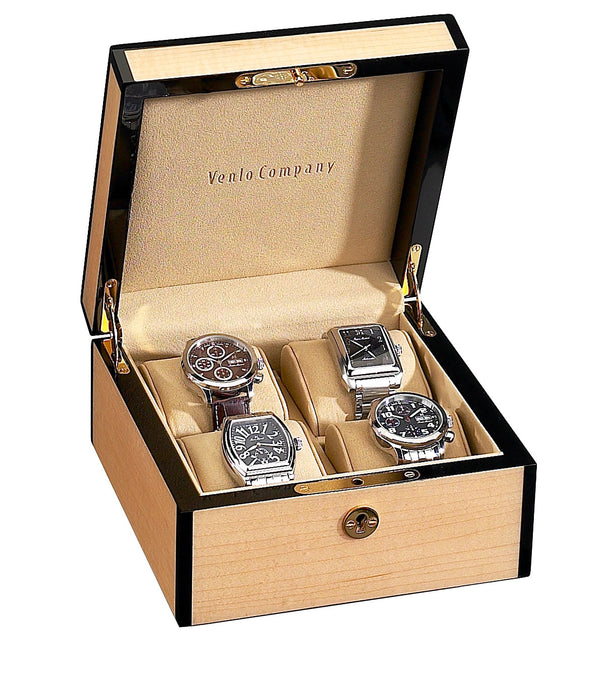 4 Watch Case Wood Veneer