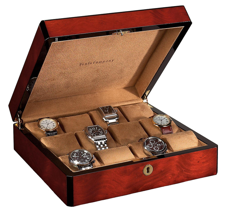 12 Watch Case Wood Veneer