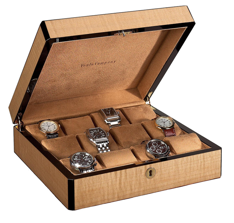 STILL AVAILABLE- 12 Watch Case Wood Veneer- STILL AVAILABLE