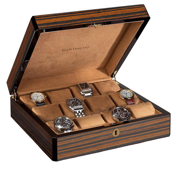 12 Watch Case Wood Veneer (Ebony) - SOLD OUT