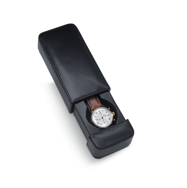 SOLD OUT Milano 1 Watch Travel Case Italian Leather Collection SOLD OUT