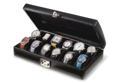 Volla 12 Watch Case Italian Leather Collection
