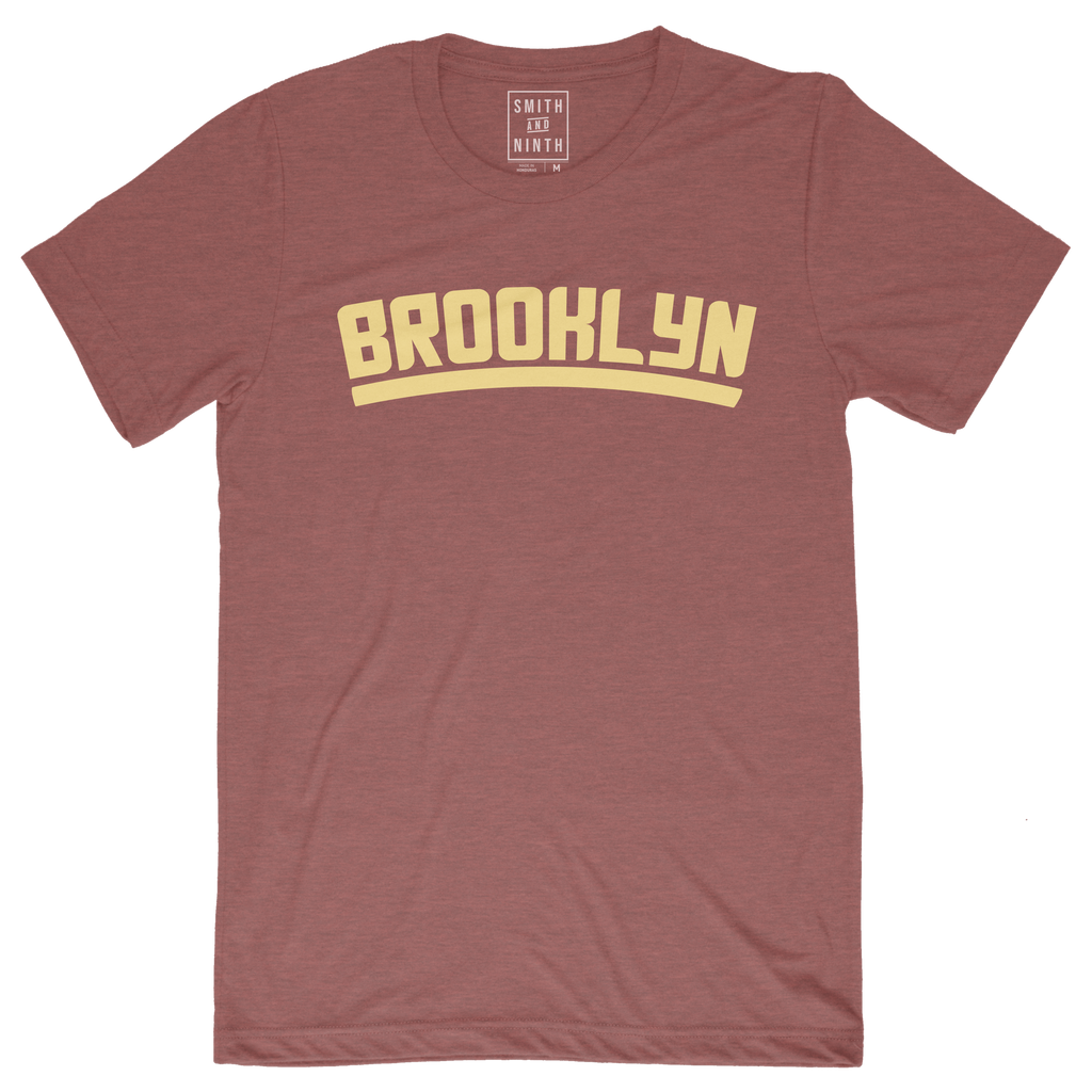 Bold Yellow Brooklyn Unisex T-Shirt