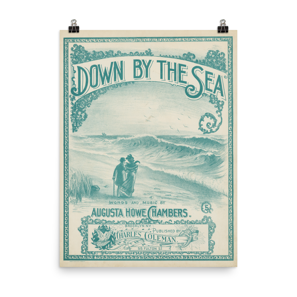 Down by the Brooklyn Sea Poster