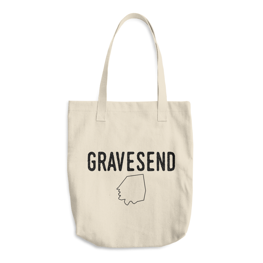 Gravesend, Brooklyn. Tote Bag