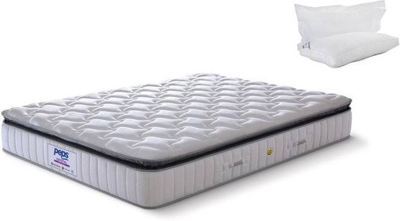 Peps Crystal Luxury Zero Disturbance Pocketed Spring Memory Foam Mattress