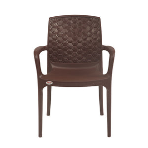 AMAZON GLOBUS BROWN CHAIR