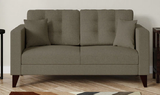 Tesla Two-Seater Leather Sofa