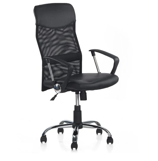 Nilkamal Aqua High Back Ergonomic Chair in Black Color