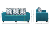 Amanda Three-Seater Sofa With Cushions