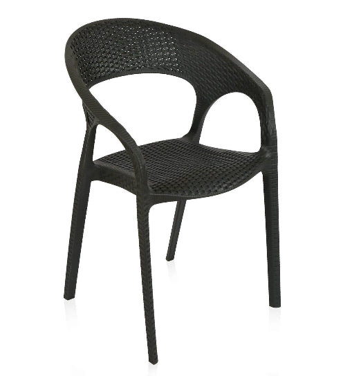 Nilkamal Club Charcoal Grey Chair