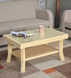 Nilkamal Center Table in Marble Beige Color