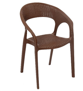 Nilkamal Club Season Rust Brown Chair