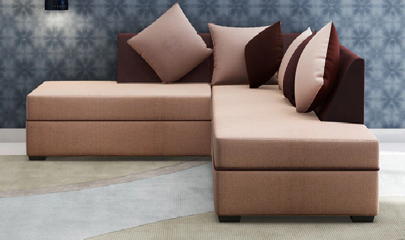 Serena LHS Sectional Sofa by Maniraj Furniture