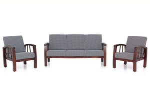 JFA Jasper Wooden Sofa Set