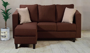 Pearl Two-Seater L Shaped Sofa