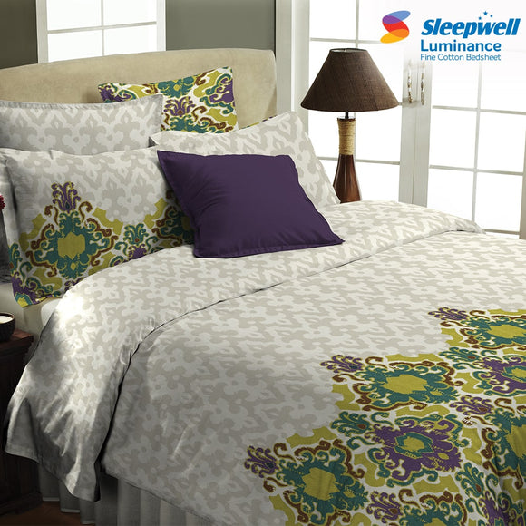 Sleepwell Luminance Bedsheets