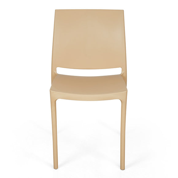 Nilkamal Novella 08 Chair (Biscuit Color)