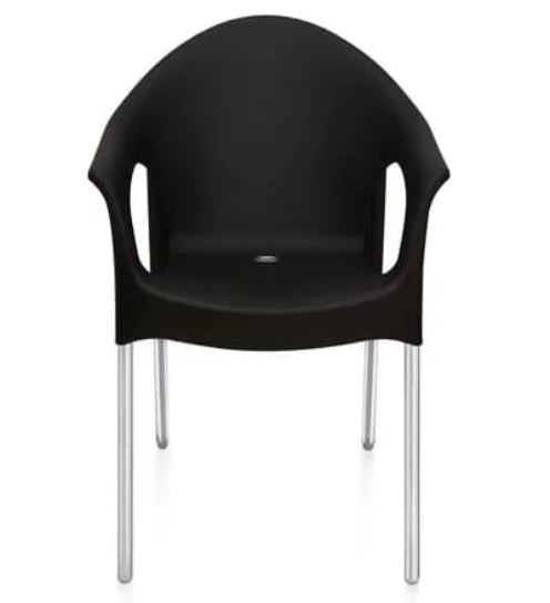 Nilkamal Novella 09 Iron Black Chair