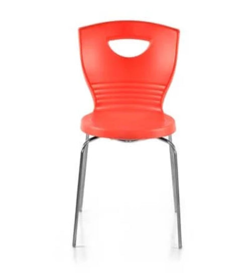 Nilkamal Novella 15SS Bright Red Chair