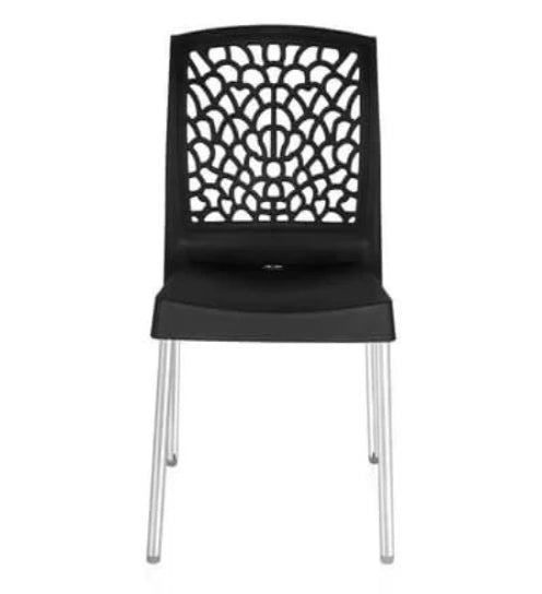 Nilkamal Novella 19SS Iron Black Chair