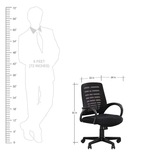 Nilkamal Elantra Mid Back Ergonomic Chair