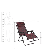 Nilkamal Frolic Easy Foldable Chair in Purple Color