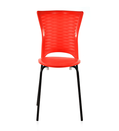 Nilkamal Novella 14 Bright Red Chair