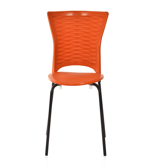 Nilkamal Novella 14 Rust Chair