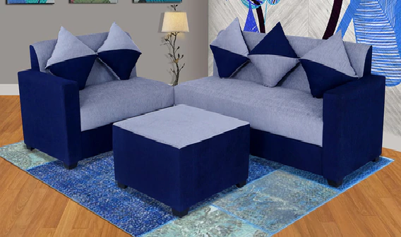 Sweden Sectional Sofa with Center Table by Maniraj Furniture