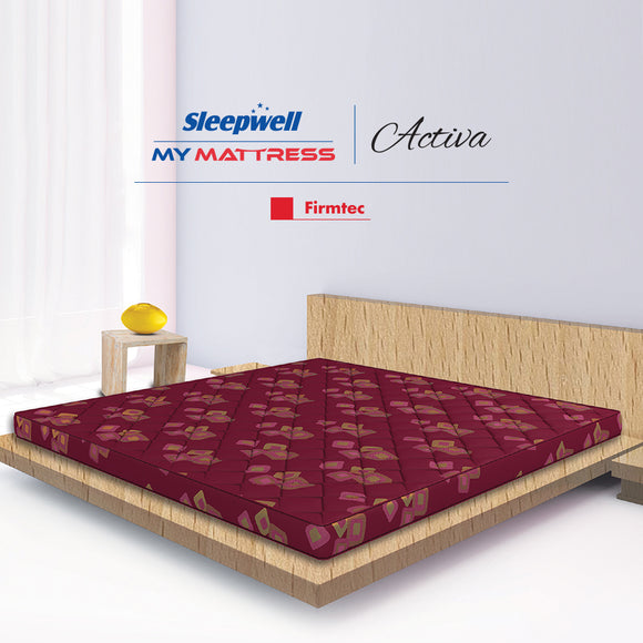 Sleepwell Activa Firm Tec Mattress