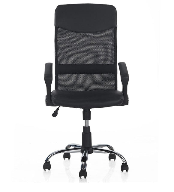 Aqua High Back Ergonomic Chair in Black Colour by Nilkamal