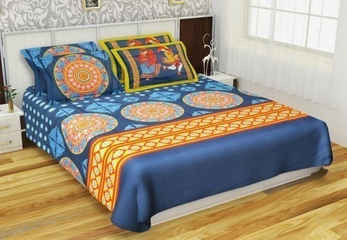 Kurlon Art of India Cotton Bedsheets