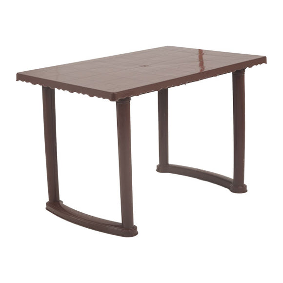 supreme atlanta globus brown dining table