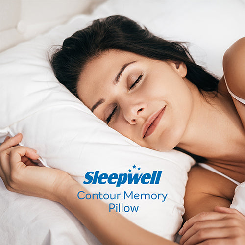 Sleepwell Contour Memory Pillow