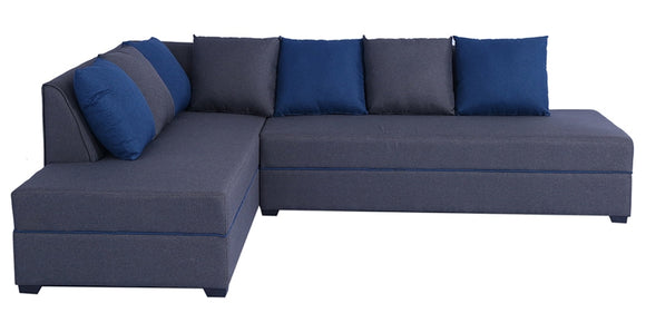 Serena RHS Sectional Sofa with Ottoman by Maniraj Furniture
