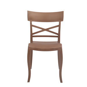 supreme cruz brown chair
