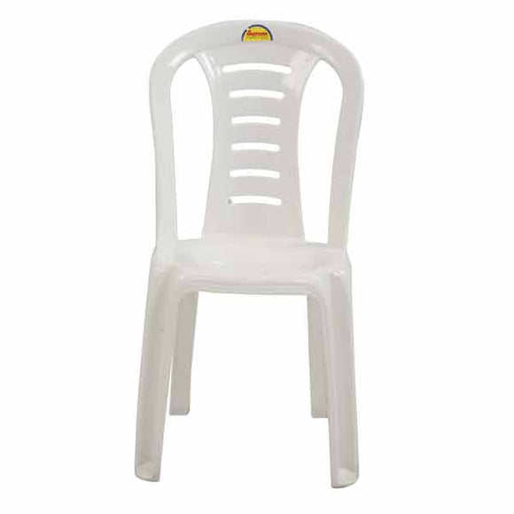 white elite chair