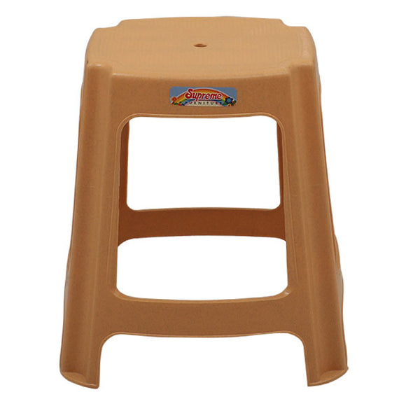 Supreme Gypsy Marble Beige Stool