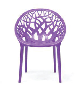 Nilkamal Crystal PP Voilet Chair