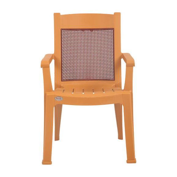 amber brown kingdom chair