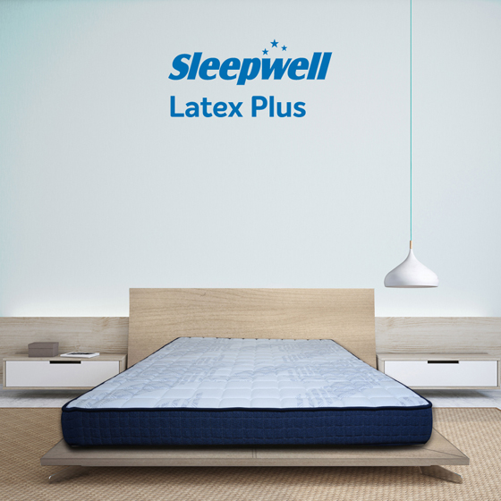 Sleepwell Latex Plus Mattress