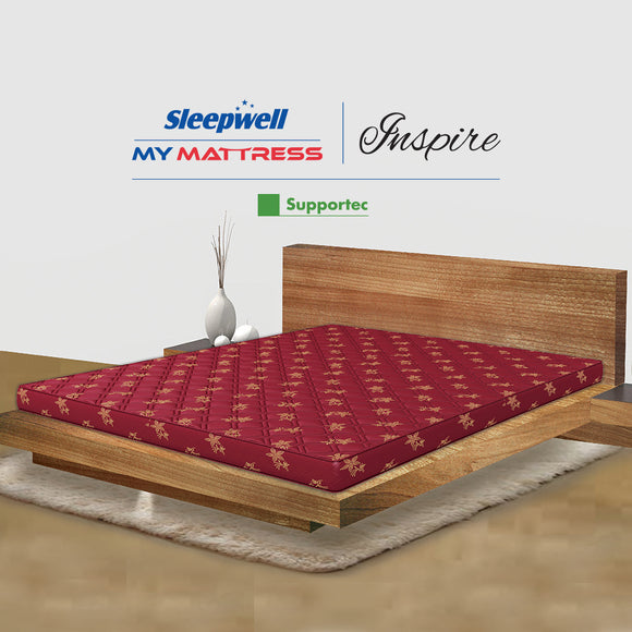 Sleepwell Inspire Support Tec Mattress