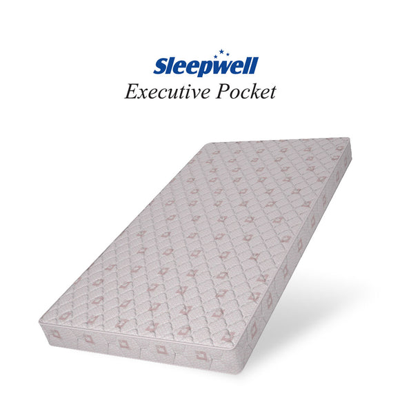Sleepwell Executive Pocketed Spring Mattress
