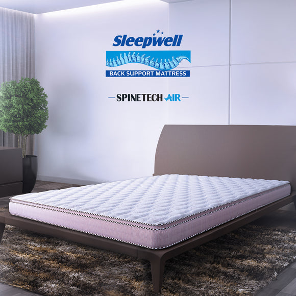 Sleepwell Spine Tech Air Bonded Foam With Memory Foam Mattress