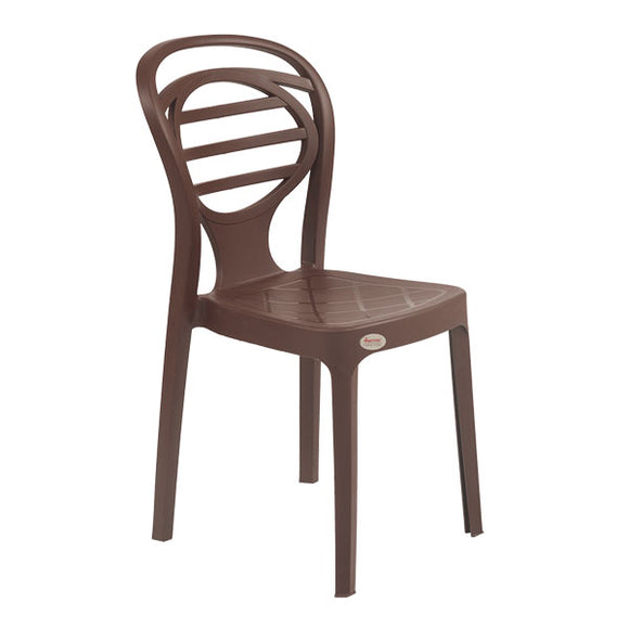 Supreme Premium Oak Armless Chair