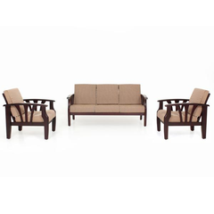 JFA Opal Wooden Sofa 3-1-1 Set